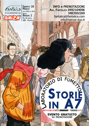 Laboratorio Fumetto in A7