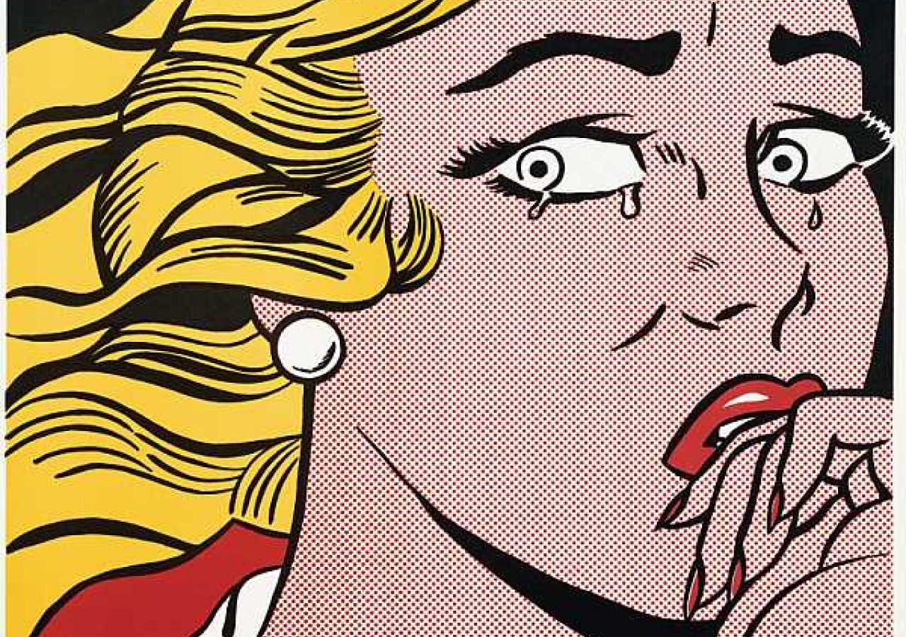 roy-lichtenstein-pop-prints-crying-girl