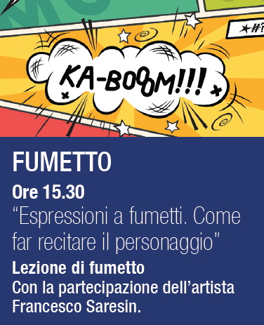open day fantalica con il fumetto