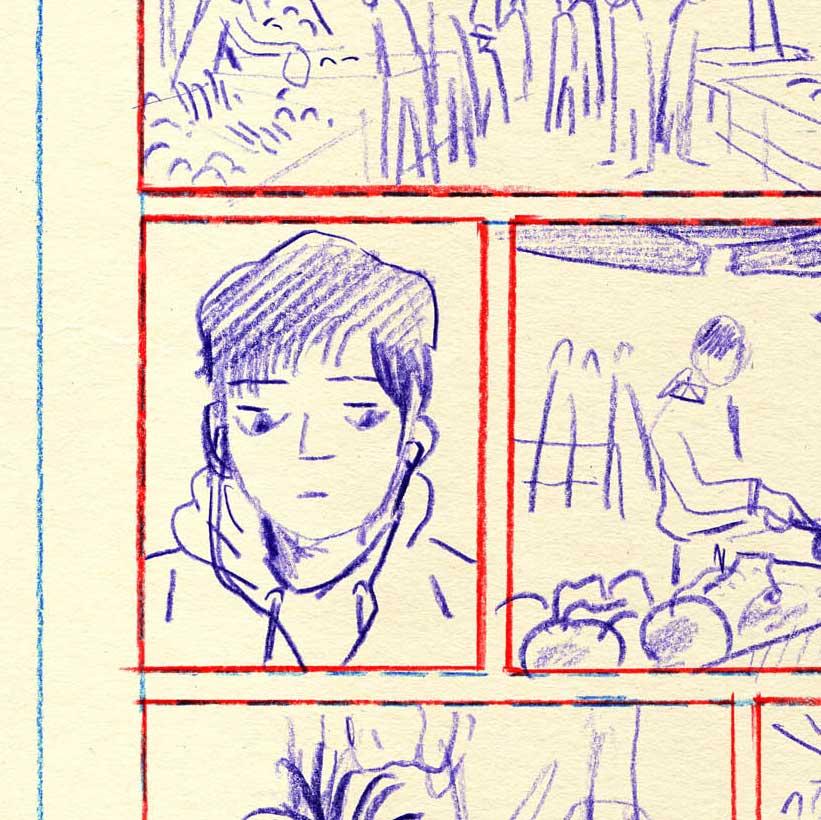 realizzare tavola a fumetti