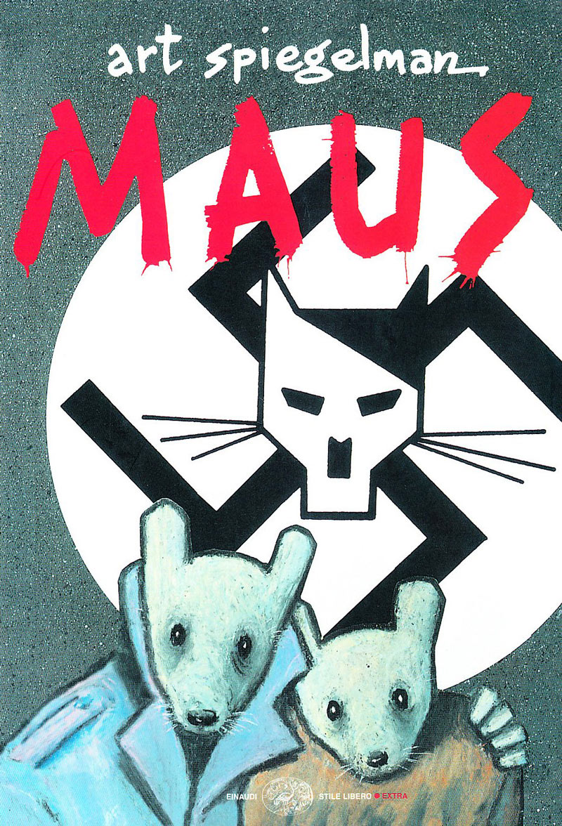graphic novel fumetto periodo d'oro maus art spiegelman