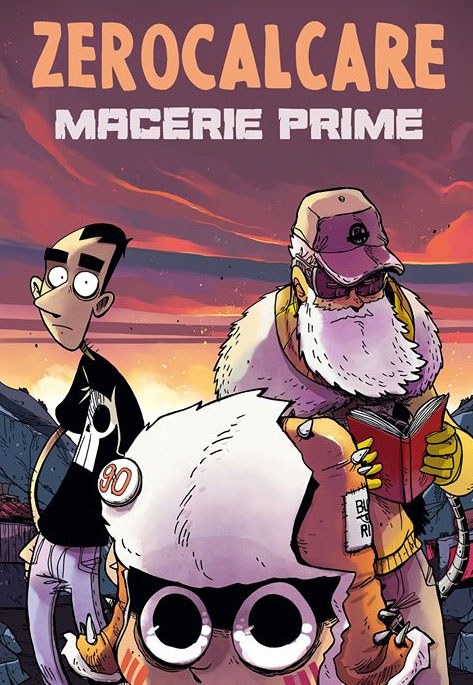 graphic novel fumetto periodo d'oro zerocalcaremacerie prime bao publishing
