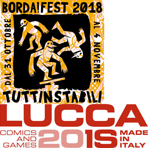 Lucca comics vs Borda!Fest